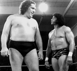 Andre the Giant and Jimmy Snuka