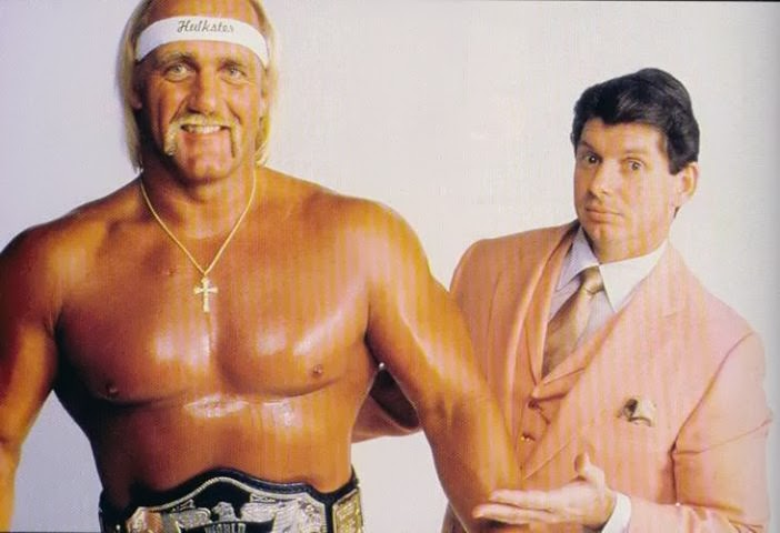 Hulk Hogan and Vince McMahon