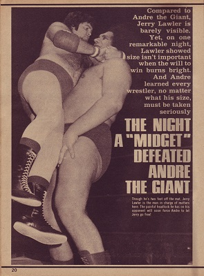 Andre the Giant Jerry Lawler Midget Story