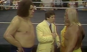 Andre the Giant Hulk Hogan