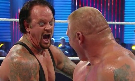Undertaker vs. Brock Lesnar SummerSlam 2015