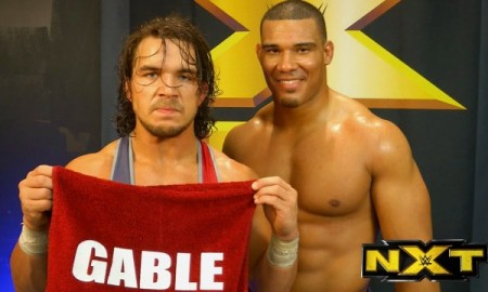 Chad Gable and Jordan