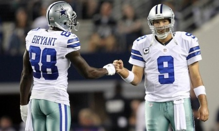 Tony Romo and Dez Bryant