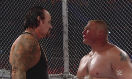 Hell in a Cell 2015 Undertaker Brock Lesnar
