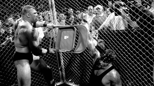 the undertaker vs. brock lesnar hell in a cell