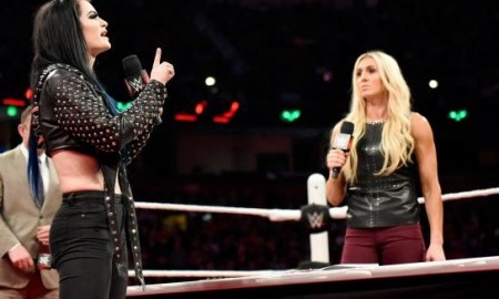 Paige and Charlotte WWE RAW
