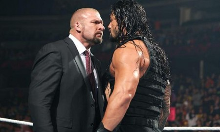 Roman Reigns vs. Triple H