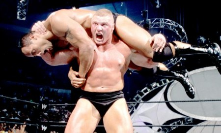 Rock vs. Brock Lesnar SummerSlam 2002