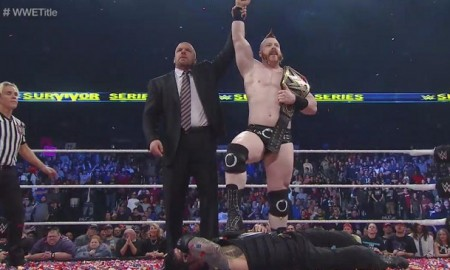 Sheamus and Triple H Survivor Series 2015