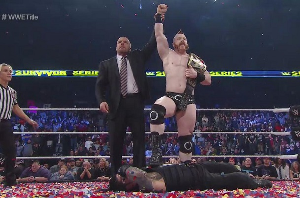 sheamus triple h