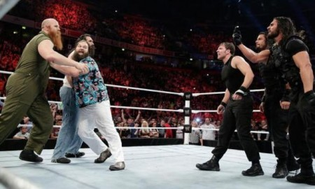 The Shield vs. the Wyatts