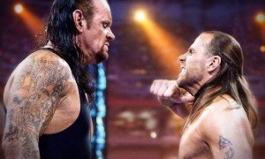 The Undertaker versus Shawn Michaels