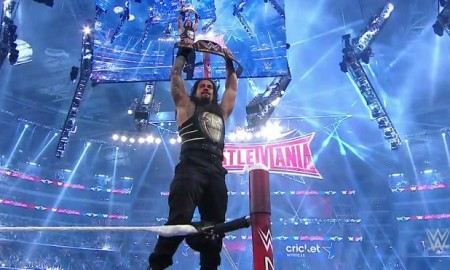 Roman Reigns WrestleMania 32 Results