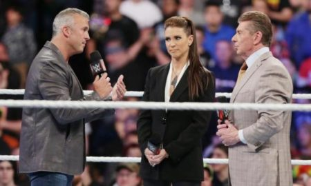 Shane Vince and Stephanie McMahon
