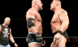 Bill Goldberg vs. Brock Lesnar