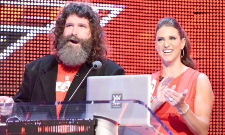Mick Foley Stephanie McMahon