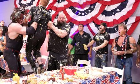 WWE RAW Food Fight