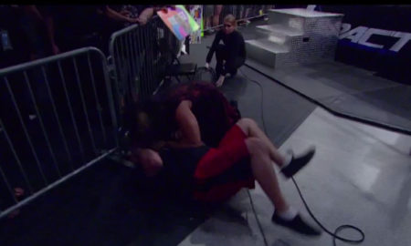 Matt Hardy Bites Fan