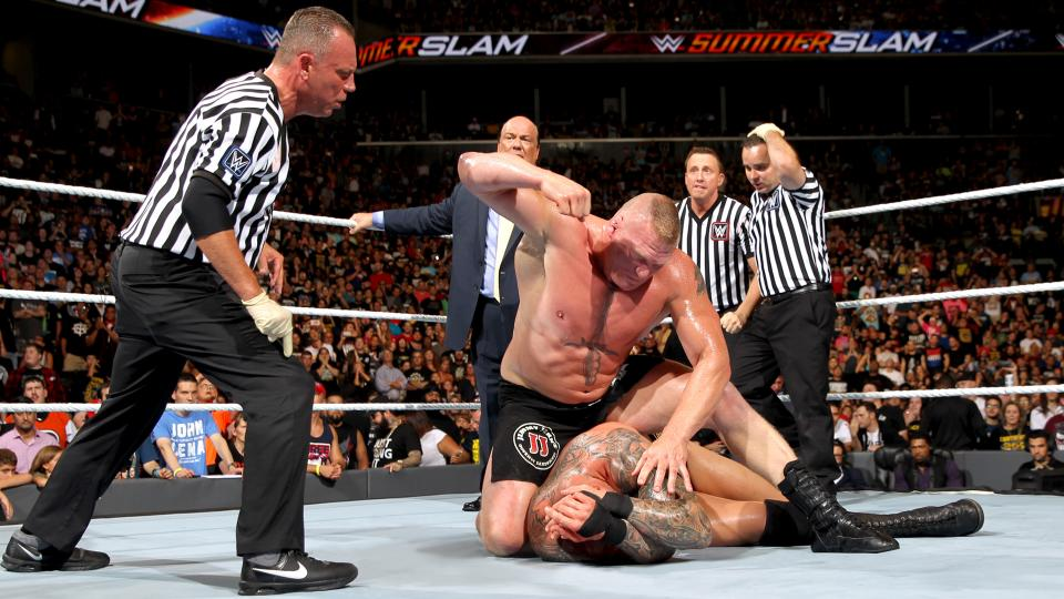 Summerslam 2016 Brock Lesnar