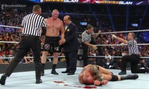 Brock Lesnar SummerSlam 2016