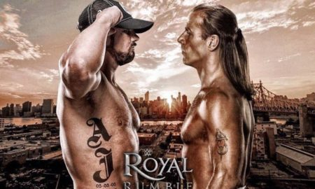 AJ Styles vs. Shawn Michaels