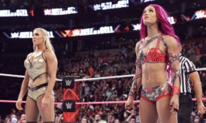 Charlotte vs. Sasha Hell in a Cell