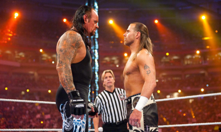 The Undertaker, Shawn Michales WrestleMania 26