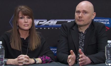 Billy Corgan and Dixie Carter