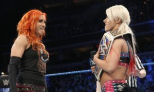 Becky Lynch and Alexa Bliss