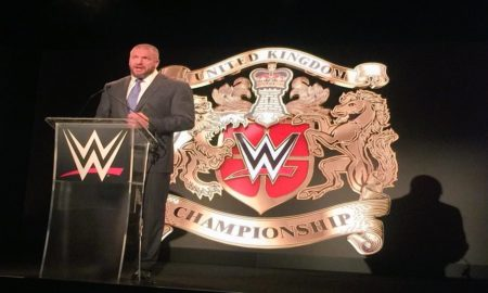 Triple H, WWE UK title