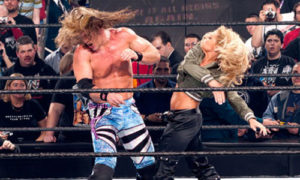 Trish Stratus and Chris Jericho