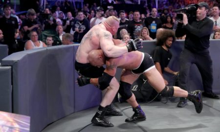 Goldberg vs. Lesnar